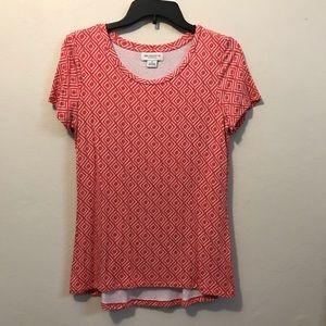 Liz Claiborne pink top💕
